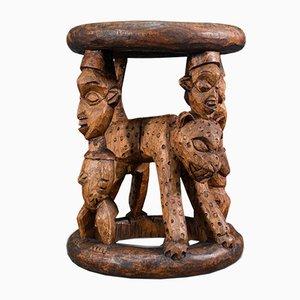 Antique West African Yoruba Ceremonial Table, Circa 1900