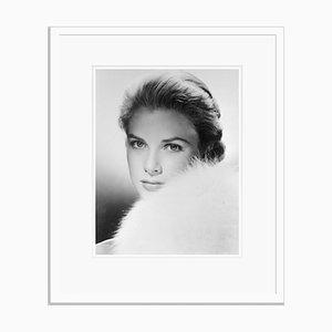 Grace Kelly Archival Pigment Print Framed in White by Bettmann