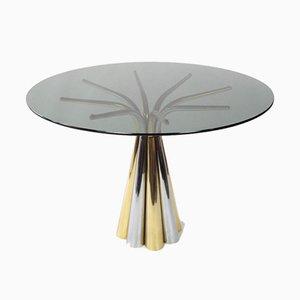 Spanischer Vintage Mesa de Hierro Tisch von Vidal Grau, 1970er