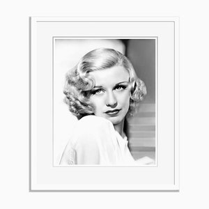 Gorgeous Ginger Archival Pigment Print Framed in White by Everett Collection