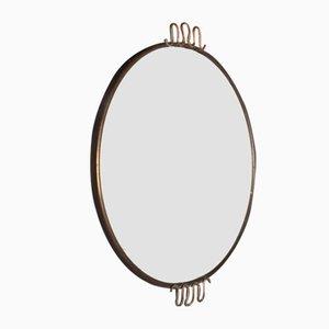 Vassoio specchiato Mid-Century di Osvaldo Borsani