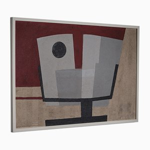 Abstract Painting by B.J. Helders, the Netherlands 1968