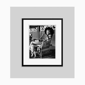 Stylish Ginger Archival Pigment Print Framed in Black by Everett Collection