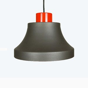 Industrial Style Cinderella Ceiling Lamp by Johannes Hammerborg for Fog & Mørup, 1970s