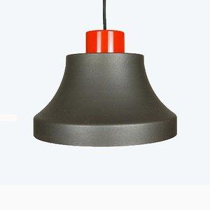 Industrial Style Cinderella Ceiling Lamp by Johannes Hammerborg for Fog & Mørup, 1970s