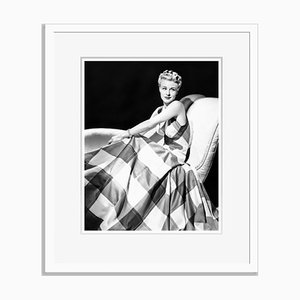 Elegant Ginger Rogers Archival Pigment Print Framed in White by Everett Collection