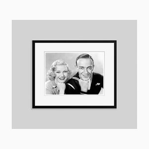 Ginger & Fred Framed in Black by Everett Collection