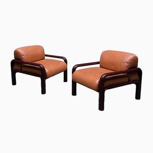 Italienische 54-S1 Sessel von Gae Aulenti für Knoll Inc. / Knoll International, 1977, 2er Set