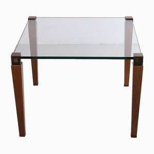 Vintage T 56/2 Coffee Table with Wooden Legs by Peter Ghyczy