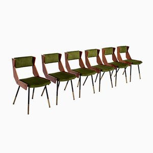 Mid-Century Dining Chairs from Franco Frattini, Set of 6