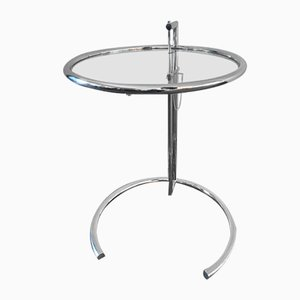 Adjustable E1027 Side Table by Eileen Gray, 1940s