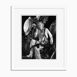 Ginger Rogers on Set Archival Pigment Print Framed in White by Everett Collection