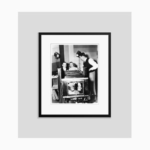 Astaire & Ginger Publicity Shoot Archival Pigment Print Framed in Black by Everett Collection