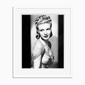 Ginger Rogers Archival Pigment Print Framed in White by Everett Collection