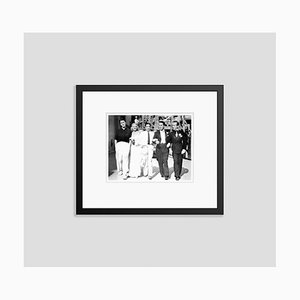 Ginger Rogers and Her Co-stars in Swing Time Archival Pigment Print Framed in Black by Everett Collection