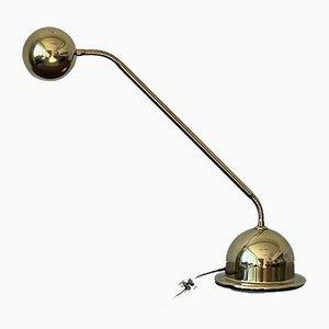 Deutsche Messing Tischlampe von Hustadt Leuchten, 1970er