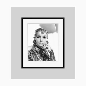 Garbo in Mata Hari Archival Pigment Print Framed in Black by Everett Collection