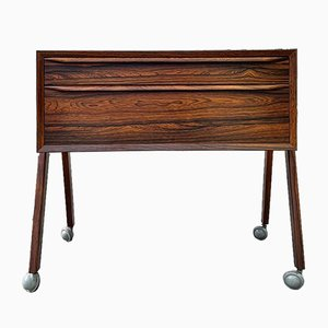 Danish Arne Vodder Style Rosewood Cabinet, 1960s