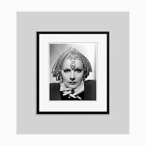 Art Deco Greta Garbo Archival Pigment Print Framed in Black by Everett Collection