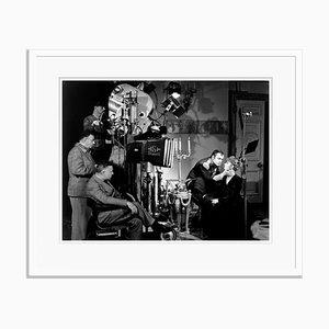 Greta Garbo on Set Archival Pigment Print Framed in White by Everett Collection