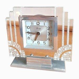 Art Deco Uhr von DEP, 1930er