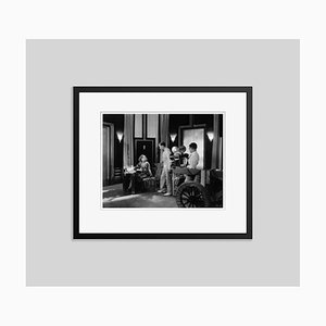 Greta Garbo in the Kiss Archival Pigment Print Framed in Black by Everett Collection