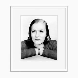 Garbo As Anna Christie Archival Pigment Print Framed in White by Everett Collection