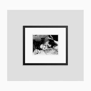 Greta Garbo and John Gilbert Archival Pigment Print Framed in Black by Everett Collection