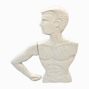 Modernist Flat Mannequin Bust, 1960s