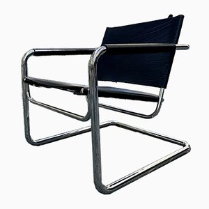 Bauhaus Club Chairs by Pfalzberger, 1980s, Set of 2