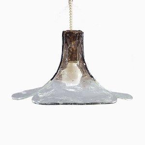 Italienische LS185 Deckenlampe aus Muranoglas von Carlo Nason für Mazzega, 1970er