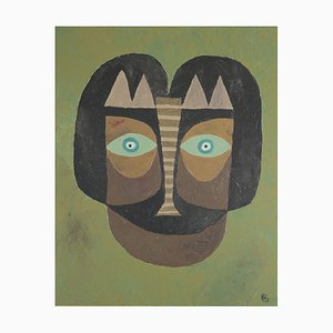 Masque Djambo N ° 2 par Hermentaire