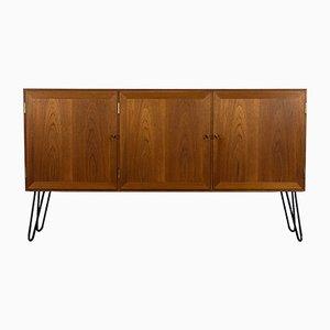 Danish Teak Cabinet by Kaj Winding for Poul Jeppesens Møbelfabrik, 1960s