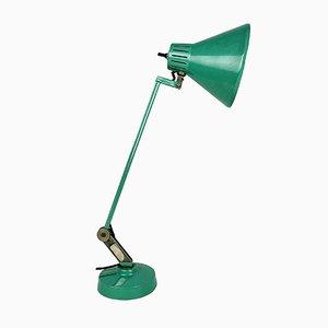 Italienische Grüne Mid-Century Tischlampe, 1960er