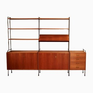 Mid-Century Shelf by Ernst Dieter Hilker for Omnia, 1960s