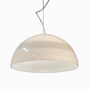 Murano Glass Ciompo Pendant Lamp by Vistosi, Italy, 1970s