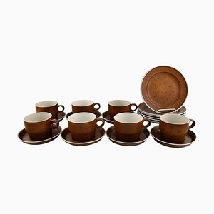 Coq Coffee Service Set by Stig Lindberg for Gustavsberg, 1960s