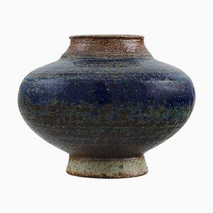 Small Vase in Glazed Ceramics, 1960s
