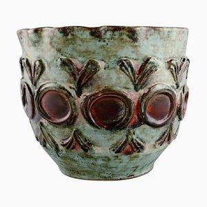 Flowerpot Cover In Glazed Ceramics, 1960s