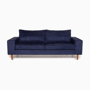 Indivi 2 Blue Fabric 3-Seater Sofa from Boconcept