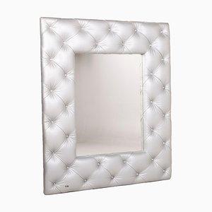 Silberner Marilyn Leder Swarovski Spiegel von Bretz