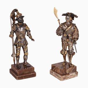 Statues by Giuseppe Vasari, 1934-2005, Set of 2