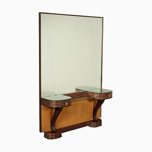 Walnut Dressing Table, 1940s