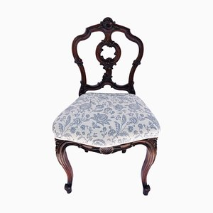 Victorian Antique Carved Walnut Chair