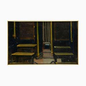 Inconnu - Dos Fotografias - Original Oil on Board - Début 20ème Siècle