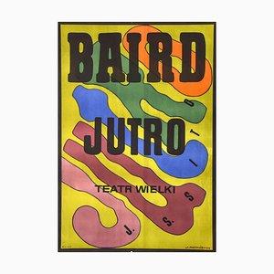 Baird Tomorrow - Vintage Poster Offset by J. Mtodozeniec - 1974