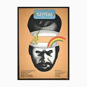 Szepital- Vintage Poster von Marcin Mroszciak - 1973