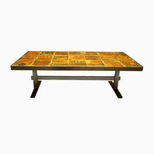 Niedriger Tisch aus Keramik
