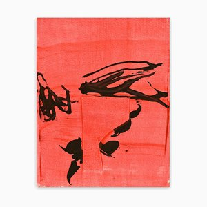 Frankly Scarlet 5, Abstract Painting, 2021