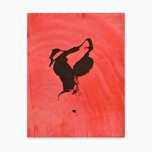 Frankly Scarlet 50, Abstrakte Malerei, 2021